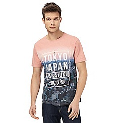 Red Herring - Pink graphic print t-shirt