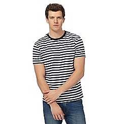 Red Herring - Blue striped t-shirt