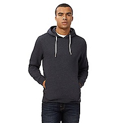 Red Herring - Big and tall navy overhead hoodie