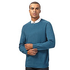 Red Herring - Turquoise textured jumper