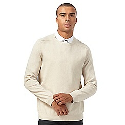 Red Herring - Big and tall natural textured jumper