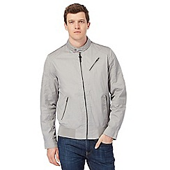 Red Herring - Big and tall grey harrington jacket