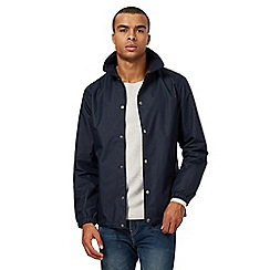 Red Herring - Big and tall navy mesh lined jacket