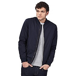 Red Herring - Big and tall navy bomber jacket