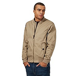 Red Herring - Natural bomber jacket