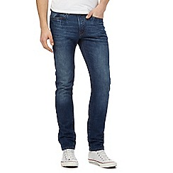 Red Herring - Blue mid wash slim fit jeans