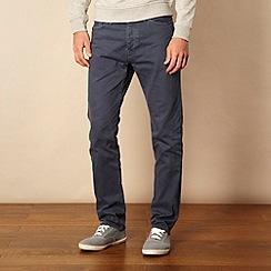 Red Herring - Navy blue straight leg jeans