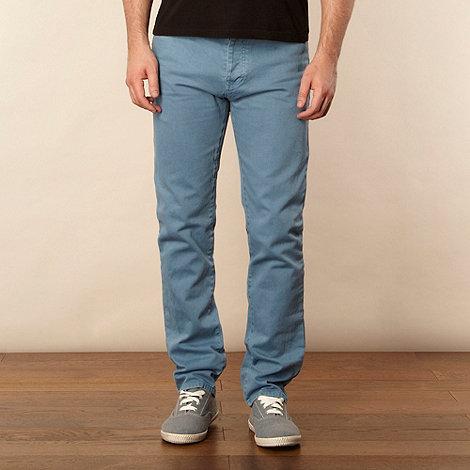 Red Herring - Light blue straight leg twill jeans