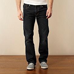 Red Herring - Dark blue wash bootcut jeans
