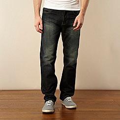 Red Herring - Green tint straight leg jeans