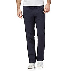 Red Herring - Big and tall navy slim chinos