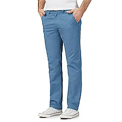 Red Herring - Big and tall blue slim chinos