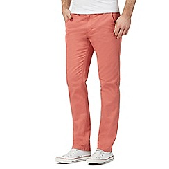 Red Herring - Orange slim chinos