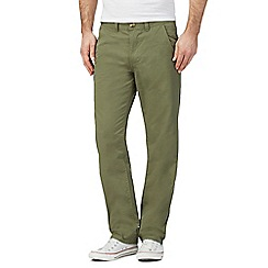 Red Herring - Khaki slim chinos