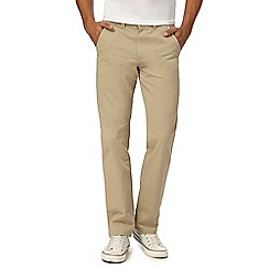 Red Herring - Dark cream straight leg chinos