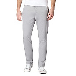 Red Herring - Pale grey skinny chino trousers