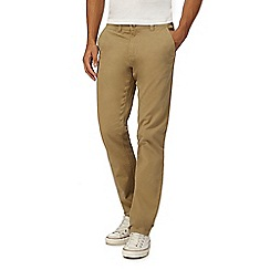 Red Herring - Big and tall natural skinny chino trousers