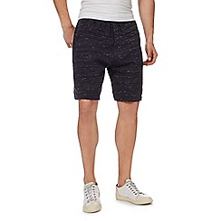 Red Herring - Black space dye shorts