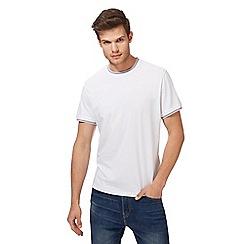 Red Herring - White striped trim t-shirt