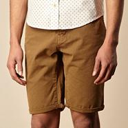 Tan canvas shorts