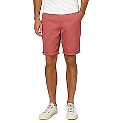 Red Herring - Red chino shorts