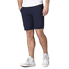 Red Herring - Navy cargo shorts