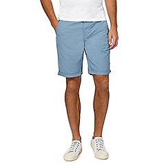 Red Herring - Big and tall blue chino shorts