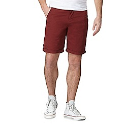 Red Herring - Maroon cargo shorts