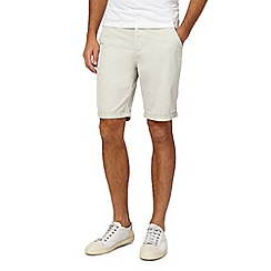 Red Herring - Natural chino shorts