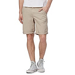 Red Herring - Natural cargo shorts