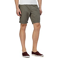 Red Herring - Khaki chino shorts