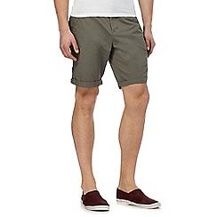 Red Herring - Big and tall khaki chino shorts