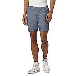 Red Herring - Blue jacquard shorts