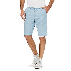 Red Herring - Light blue chambray shorts