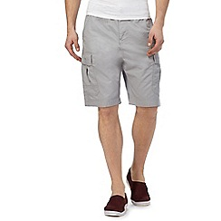 Red Herring - Grey cargo shorts