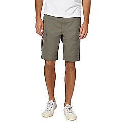 Red Herring - Khaki cargo shorts