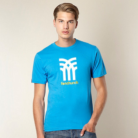 Fenchurch - Blue icon logo t-shirt