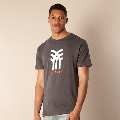 Fenchurch - Dark grey icon logo t-shirt