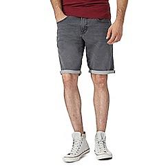 Red Herring - Grey denim shorts
