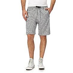 Red Herring - Grey textured shorts