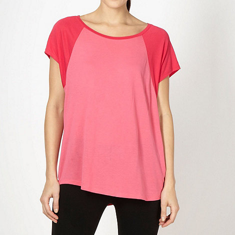 Pineapple - Pineapple pink raglan sleeve top