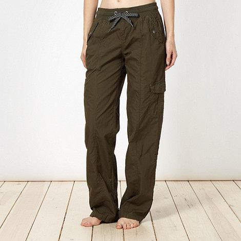 Pineapple - Khaki cargo trousers