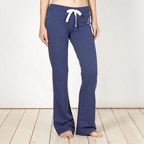 Pineapple - Pineapple blue bootcut jogging bottoms