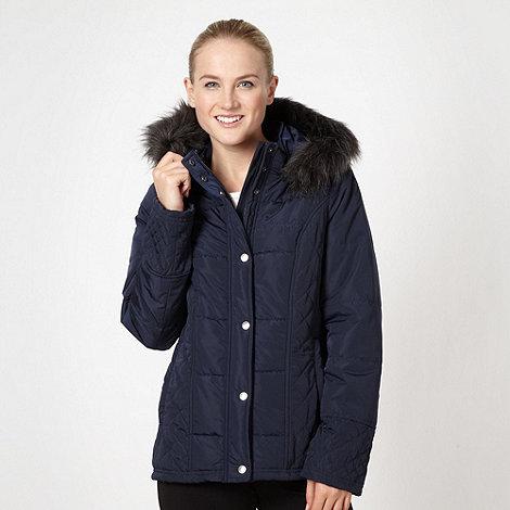 Pineapple - Navy padded coat