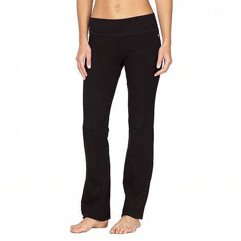 Pineapple - Pineapple black bootcut jogging bottoms