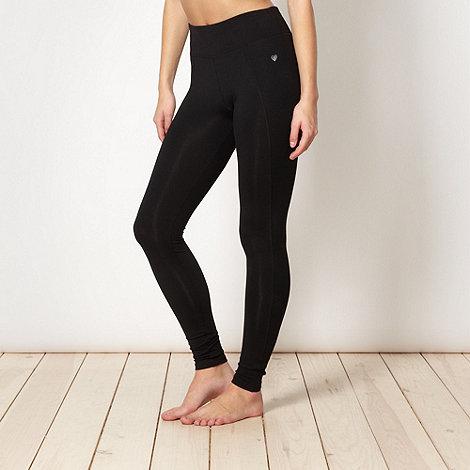 Pineapple - Pineapple black performance leggings