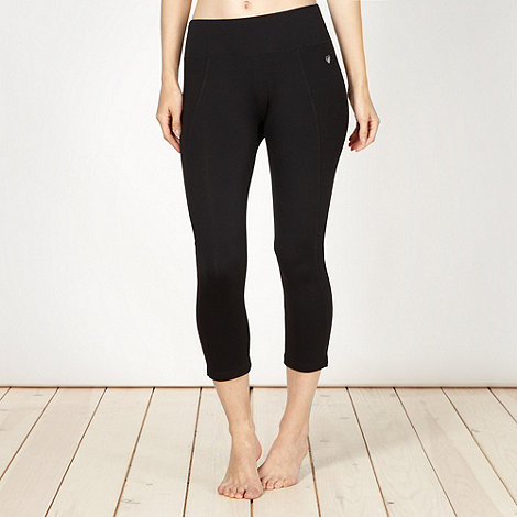 Pineapple - Pineapple black performance capri pants