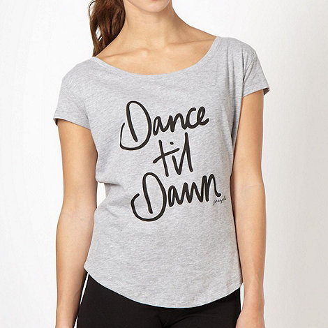 Pineapple - Grey +Dance til Dawn+ t-shirt