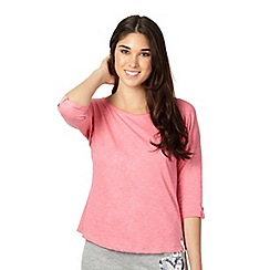 Pineapple - Pink pocket t-shirt