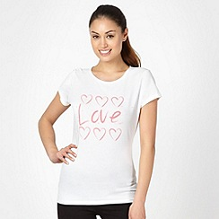 Pineapple - White love logo t-shirt
